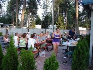 Tamarack RV Park Party